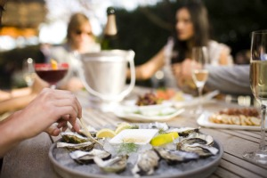 Domaine Chandon oysters SMALL
