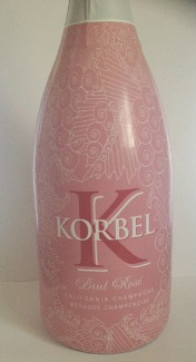 Korbel Brut Rose Pink Wrap Bottle 2 Picmonkey