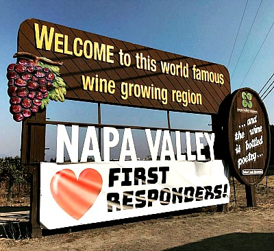 Napa Valley Sign post fire Picmonkey