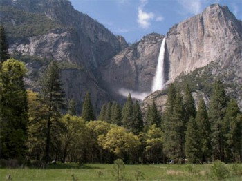 Yosemite Falls NPS Photo yf-spr415 SMALL