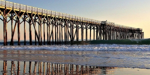 Pier on the Central Coast not too far from Paso Robles