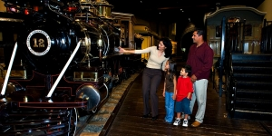 Sacramento's California Railroad Museum is known around the world