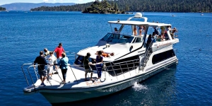 The Rum Runner Cruise from Action Water Sports is favored my many