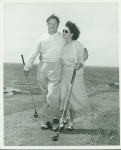 Bob and Dolores Hope Golfing Picmonkey