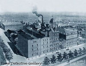 Buffalo Brewery litho
