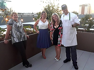 Chef Patrick Prager and guests Revival Roof Picmonkey