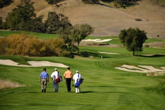 CordeValle twosome with caddies Picmonkey