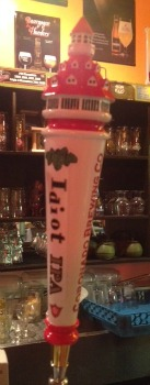 Coronado Brewing Idiot tap handle Picmonkey
