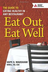 Eat Out Eat Well book cover Picmonkey