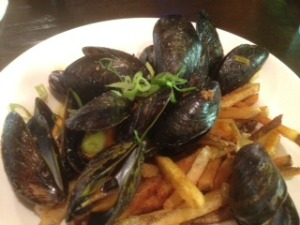 Green Curry Mussels SMALL at The Shack photo