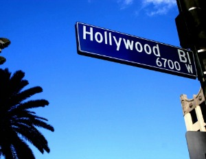 Hollywood Boulevard Sign Picmonkey