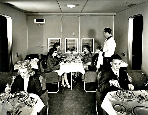 PanAm Clipper dinner service Picmonkey