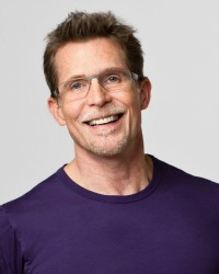 Rick Bayless mug in Blue T-Shirt Picmonkey