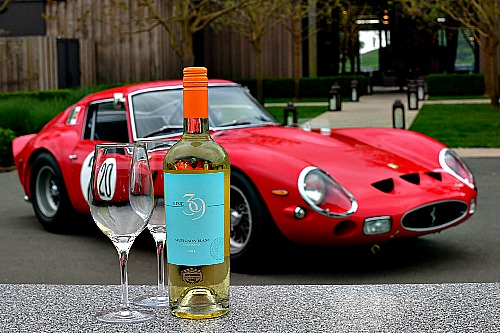 Sauvignon Blanc and racing Ferrari 2 Picmonkey