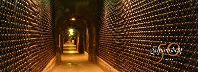 Schramsberg Vineyards cave and bottles Picmonkey