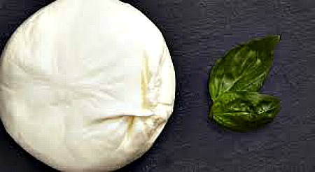 freshy Mozz with basil leaves 2 Picmonkey