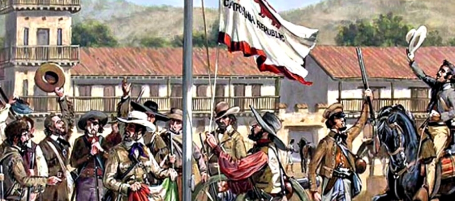 Sonoma Plaza was site of declaration of short-lived Bear Flag Republic 173 years ago, Today that same plaza is encircled by restaurants, boutique hotels and smart shops