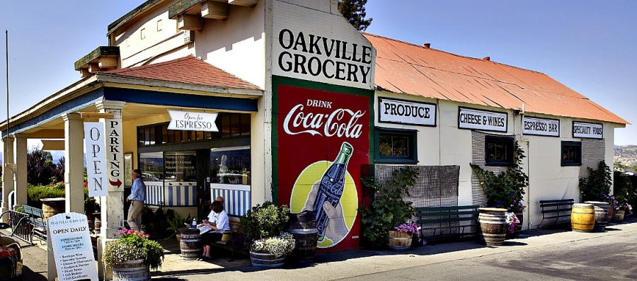 The Oakville Grocery, a Napa Valley institution