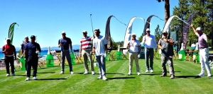 Closest-To-The-Pin Competitors take a bow