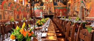 Great Hall of Dario Sattui's Castello di Amorosa in the Napa Valley