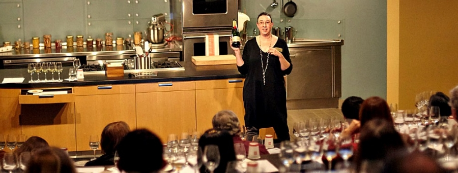 Taking a Culinary Institute of America wine tasting class is a visitor option at the reborn Copia