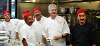 Philippe Caupain and his kitchen crew at Si Bon in Rancho Mirage are participating in Greater Palm Spring Restaurant Week