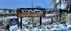 Renwood experienced an unusual blanket of snow in early February