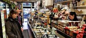 Lucca Delicatessen opened in San Francisco's North Beach in 1929, later moving to its current Chestnut Street location in the Marina District.