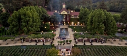 Historic Inglenook Estate at Rutherford in the heart of California's Napa Valley