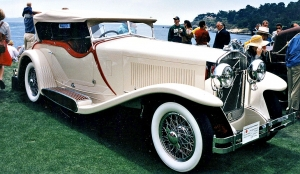 1930 Isotta FraschiniTip 8A SS Castagna Special Sports Tourer, Best of Show at the 1983 Pebble Beach Concours