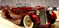 Bill Wanta's 1936 Packard Roadster was the Custom D'Elegance winner at 2017 Autorama