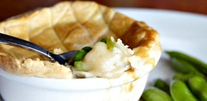 Little River Inn's Crab Pot Pie