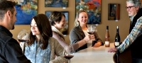 Visitors enjoy tasting at Russian River's Dutton-Goldfield