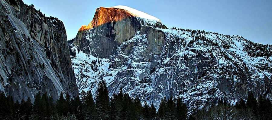 Half Dome is a Yosemite National Park icon that is beautiful in any season