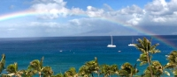 Pacific Ocean as seen from Lahaina Shores resort