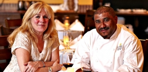 Carole and Santos MacDonal of Il Cortile Ristorante